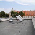 Zdjęcie Centrum Kształcenia Zawodowego instalacje na dachu