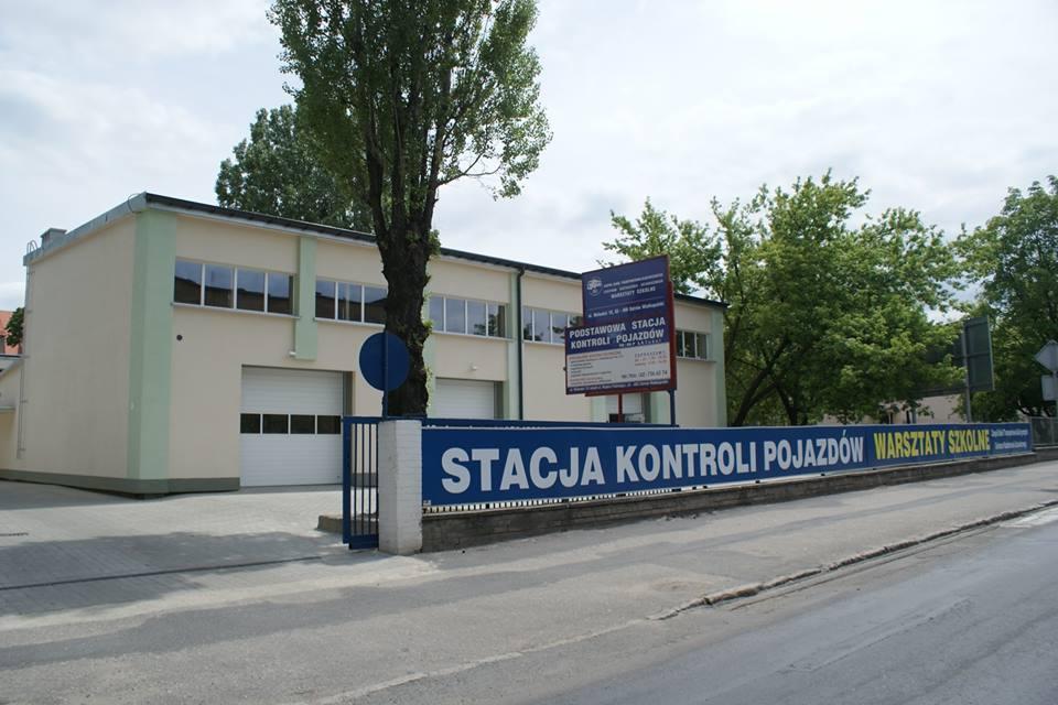 Zdjęcie stacji kontroli pojazdów