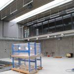 Zdjęcie Centrum Kształcenia Zawodowego hala w budowie